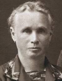 Anna Forberger, geb. Kohl, um 1920